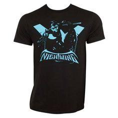 Nightwing Silhouette Custom,Men's Adult T-Shirt,Men's Gildan T-shirt,Custom T-shirt,Cheap T-shirt,T-shirt Print,Cheap Tees