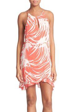 Parker 'Priscilla' Print Silk Sheath Dress