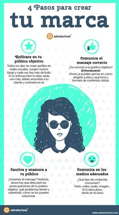 4 pasos para crear tu marca... #SocialMediaOP #Marketing
