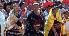 Zulu Queens, wives of King Zwelithini: Queen Zola Mafu (sixth wife), Queen Nompulelo Mamchiza (fifth wife)  Queen Thandkile MaNdlovu (fourth wife).