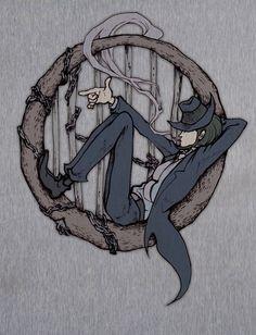 Daisuke Jigen by kero (Pixiv Id Anime Figures, Anime Characters, Manga Anime, Anime Art, Lupin The Third, Cartoon Tattoos, 3 Arts, Comic Art, Drawings