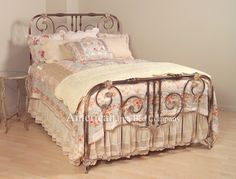 Andover bed  from antiqueironbeds.com