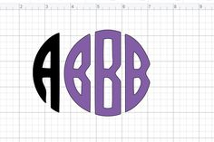 Monograms are always popular. And if you sell crafts you know monograms are in high demand. So today I'll show you how to make a free Circle Monogram on your Cricut machine. Circle Monogram, Monogram Design, Monogram Fonts, Monogram Letters, Monograms, Crafts To Sell, Cricut Design, Two By Two, Projects To Try