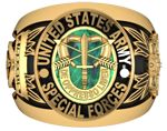 Special Forces Valor Ring Special Forces Logo, Army Green Beret, Army Rings, Military Jewelry, Survival Hacks, Military Humor, Fraternity, Usmc, Bow Ties