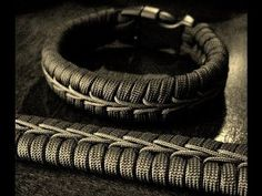 Center Stitched Paracord Bracelet