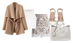 """Untitled #712"" by jmajersky ❤ liked on Polyvore featuring Chicwish, River Island, Valentino and Prada"