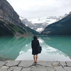 Exploring Lake Louise. #NowhereEverywhere