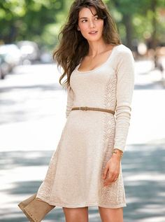 vestidos casuales con mangas juveniles 2015 - Buscar con Google