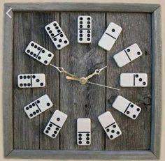 Ajannäyttäjä dominopaloista.