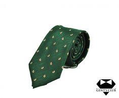 Cravata Business Office Gent's Club Verde Motiv Paisley