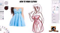 Paris Christou - How to Draw Clothes Tutorial
