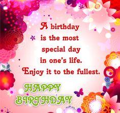 Birthday Wish - http://greetings-day.com/birthday-wish.html