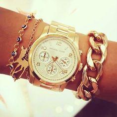 Reloj y Pulseras #MK -Watches and bracelets