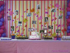 Inspire sua festa » Painel de fitas – Como fazer