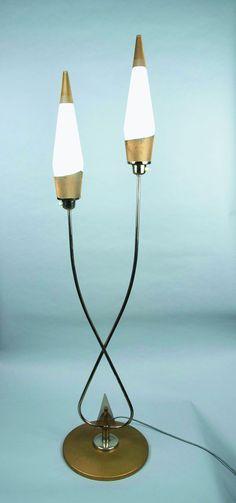 1950s Tulip standard lamp