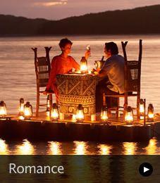 Romantic Dinner at Turtle Island, Fiji