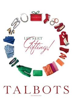 Talbots catalog design - cover