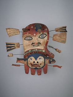 Central Yup'ik Alaska Mask | Collection Online | Museum of Anthropology at UBC