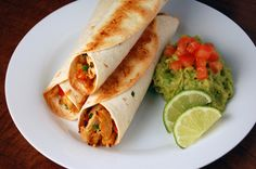 #Recipes - Baked Chicken & Roasted Red Pepper Taquitos