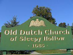 Old Dutch Church of Sleepy Hollow Halloween Disney Movies, Westchester County New York, Sleepy Hollow Cemetery, Briarcliff Manor, Legend Of Sleepy Hollow, Hallows Eve, Horror Stories, Dutch, Old Things