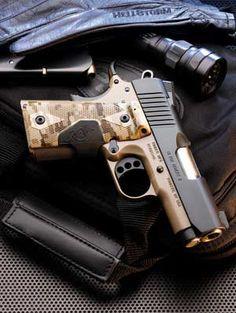 Wow... Kimber Ultra Covert II.. 45ACP!