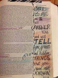Vintage Grace: Bible Marginalia- Call to ME