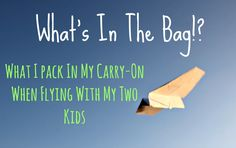 Just used this list and it made my five hour flight with my kids that I had been dreading feel like nothing at all! What a great, minimalistic way of traveling with young kids!! will be saving this and using for later.