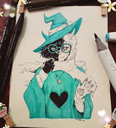 Ralsei _ The Fluffy Boi by Demon-Cat-Art on DeviantArt Undertale Cute, Undertale Fanart, Undertale Comic, Undertale Background, Undertale Drawings, Yandere, Cat Art, Fantasy Art, Art Drawings