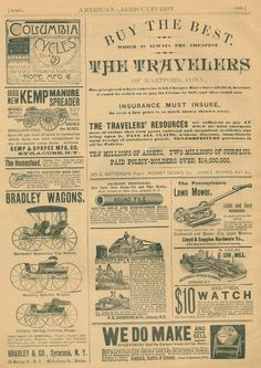 Clearly Vintage: advertisements