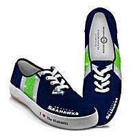I Love The Seahawks Women's Shoes @Brnrdrth Grandma I love these shoes!!!