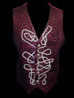 A Crimson Dream Vest by UrbanPrincessShop on Etsy, $250.00