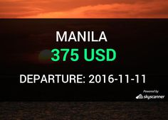Flight from Houston to Manila by Air China #travel #ticket #flight #deals   BOOK NOW >>>