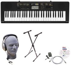 Casio Inc. CTK2400 EPA 61-Key Premium Keyboard Package with Samson HP30 Headphones, Stand, Power Supply, USB Cable and eMedia Software Casio http://www.amazon.com/dp/B00JZEW30W/ref=cm_sw_r_pi_dp_2Qbqwb11JSWDE