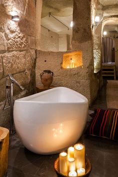 Fancy furnishings include Empire-style beds, modern four-posters, TVs concealed in wooden cabinets and freestanding tubs. The House Hotel Cappadocia (Nevsehir, Turkey) - Jetsetter