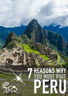 Peru has countless natural and cultural treasures that make it a unique destinations, but here are 7 of the best reasons that'll make you want to go right now. Travel Destinations Beach, Places To Travel, Beautiful Places To Visit, Cool Places To Visit, Amazing Places, Peru Travel, South America Travel, Places Around The World, Travel Photos