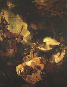 Joshua Reynolds  (1723 - 1792)  El Niño Hércules 1788