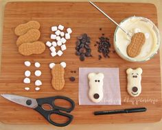 winter party ideas for kids | Hungry Happenings: Sweet Treat for Winter - Nutter Butter Polar Bear ...