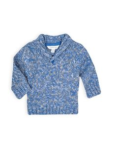 Pumpkin Patch - knitwear - crossover jumper - W4BB30011 - reflection blue - 0-3m to 18-24m