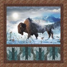 Call Of The Wild - Home on the Range Free Quilt Pattern
