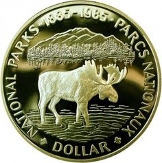1985 Canadian Silver Dollar jigsaw puzzle in Money puzzles on… Bullion Coins, Gold Bullion, Canadian Things, Foreign Coins, Gold And Silver Coins, Canadian History, World Coins, Rare Coins, Silver Dollar