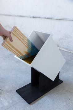 アーティストのYaelとShayが手がけたこのアイデア。この手法は思いつかなかった!木材にいいアクセントになるカクカクデザインが素敵ですね!ぜひ参考にしてみてください。参照元