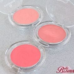 Product: Essence Silky Touch Blush Colour: (Top) Adorable (Middle) Babydoll (Bottom) Life's a Cherry Retail: R44.95 Selling: R20 Usage: Babydoll used twice others swatched  #belleblushhboutique