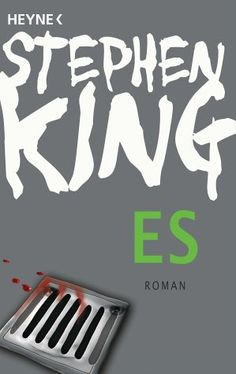 """ES"" by Stephen King (in German, 1534 pages, paperback)"