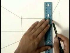One Point Perspective Drawing Tutorial,Part 1, How to Draw Perspective Tutorial , with thanks elemICT, to Study resources for Art Students, CAPI ::: Create Art Portfolio Ideas at milliande.com, Art School Portfolio Work