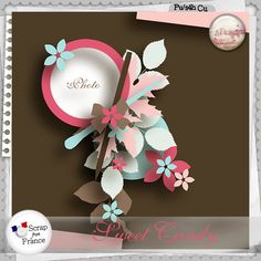 Sweet candy Templates Free by S.Designs