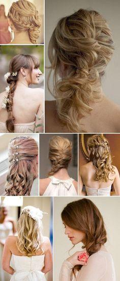 Hairstyles slubne #beauty #hairstyle #wedding