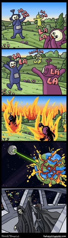 Teletubbies + Star Wars