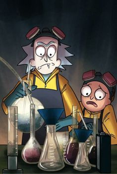 Rick and Morty x Breaking Bad Mashup ~ Let's make science together!
