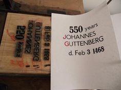 Gutenberg at 550