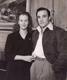 Gene Kelly and his wife